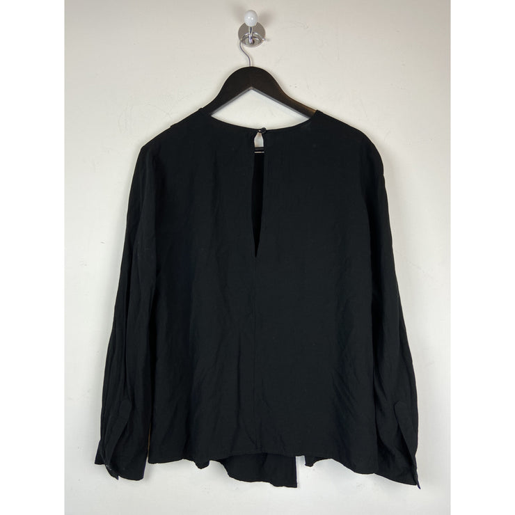 Black Viscose Blouse by Dagmar