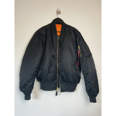 Black Bomber Jacket by Alpha Industries