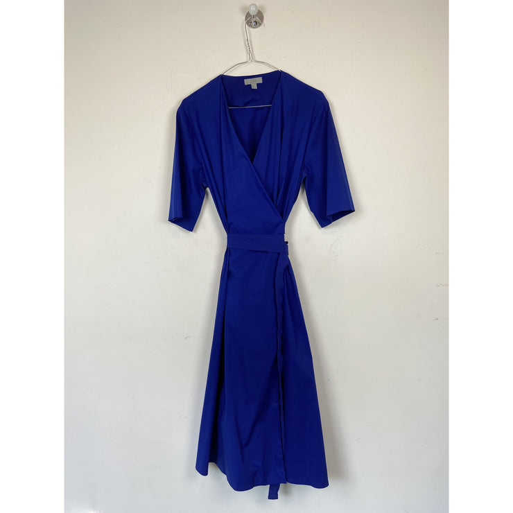 Blue Wrap Dress by Cos
