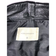 Black Leather Jacket by Deadwood