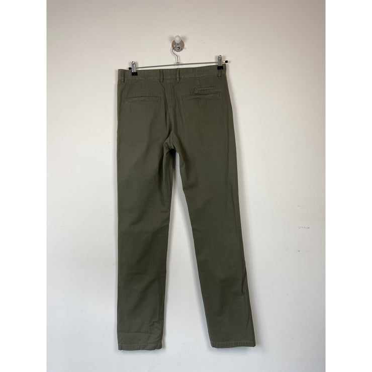 Army Green Chinos by Suitsupply