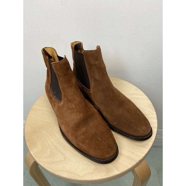 Brown Flat Boots by J.Lindeberg