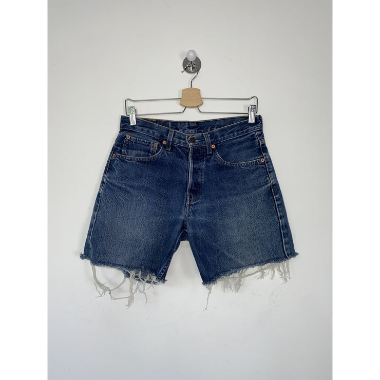 Blue Denim Shorts by Levi's