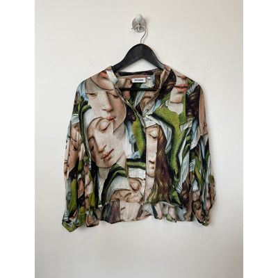 Printed Blouse by Weekday