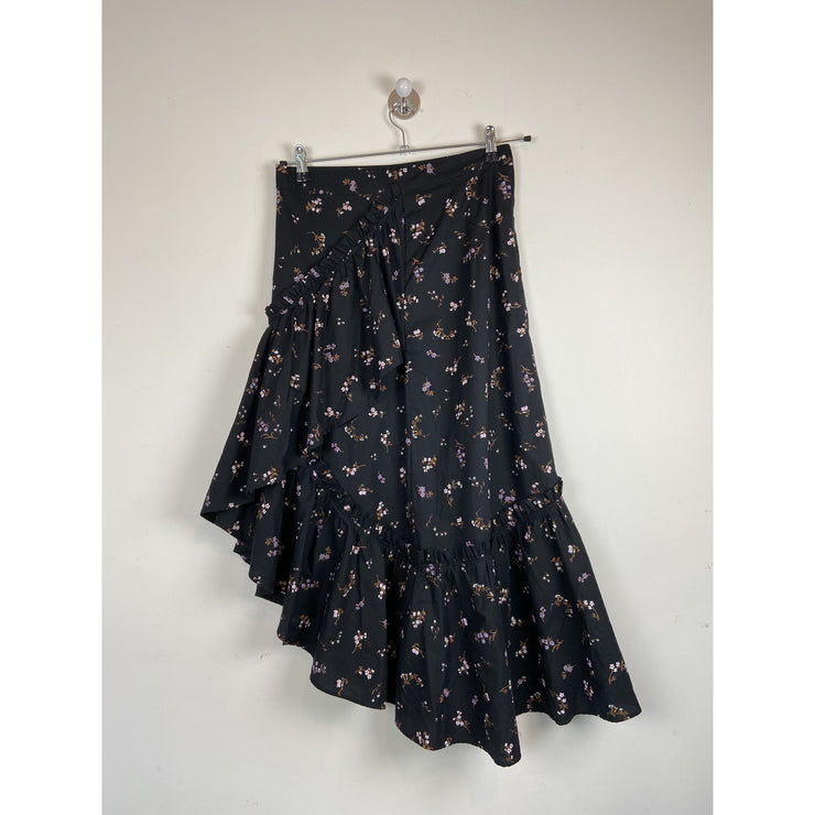 Floral Ruffled Skirt by H&M