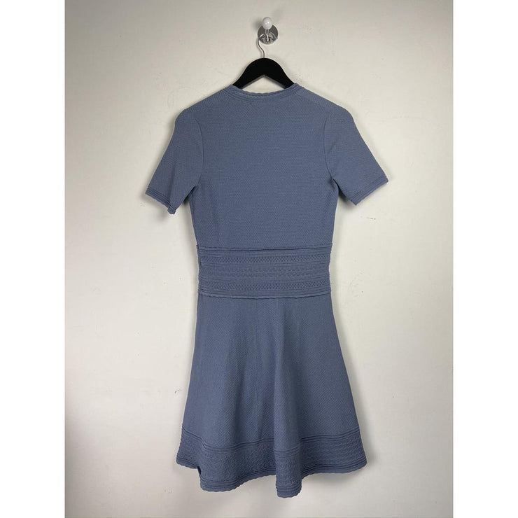 Blue Mini Dress by Sandro