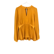 Yellow Top by Rachel Zoe