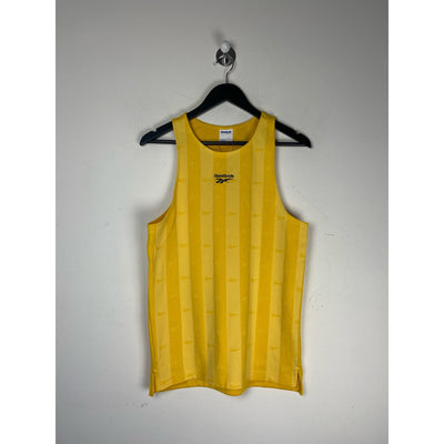 Yellow Tank Top Athletic by Reebok