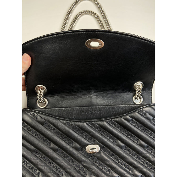Black Shoulder Bag by Balenciaga