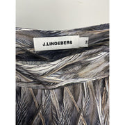 Patterned Wide Leg Pants by J. Lindeberg