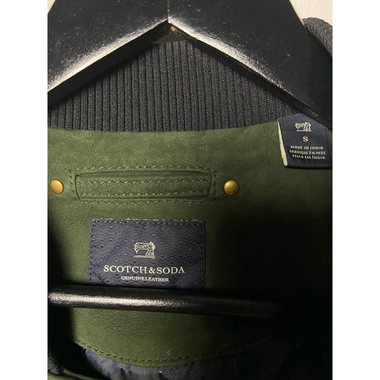 Dark Green Bomber Jacket by Scotch&Soda