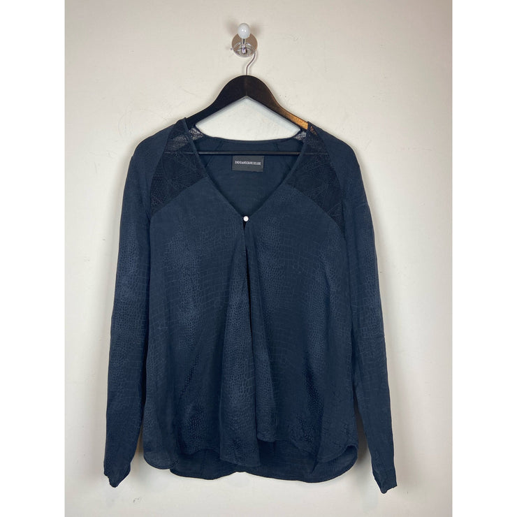 Navy Blouse by Zadig&Voltaire
