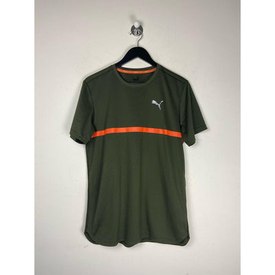 Army Green Shirt Athletic by Puma