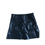 Fake-Leather Skirt by Zara