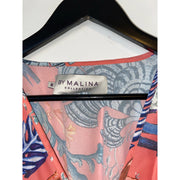 Coral Maxi Dress from by Malina