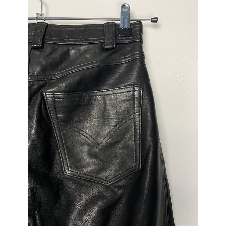 Black Leather Pants by Camanchi Leathers
