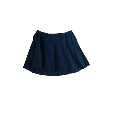Black Peated Mini Skirt by & Other Stories