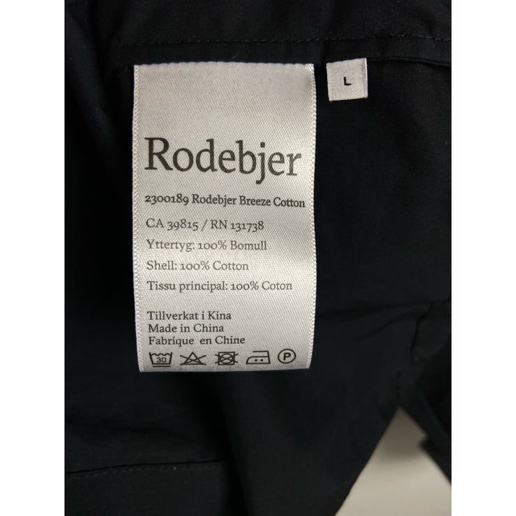 "Black ""Breeze Cotton"" Blouse by Rodebjer"