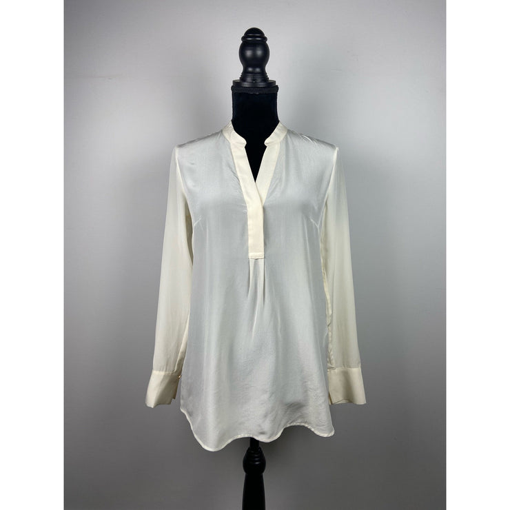 Off-white Silk Blouse by H&M