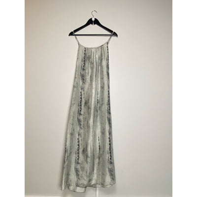 Silver Silk Dress by Eileen Fisher