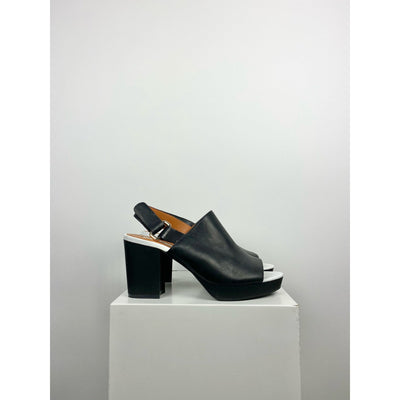 Black Mid Heel Mules by & Other Stories