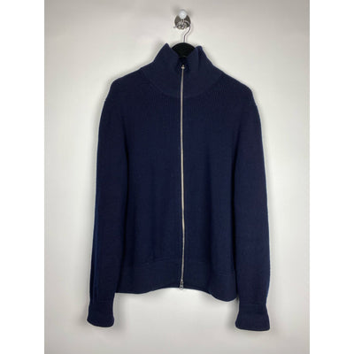 Navy Zip Up Knit by Arket