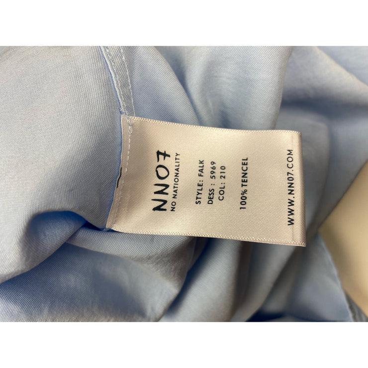 "Blue Tencel Shirt ""Falk"" by NN07"
