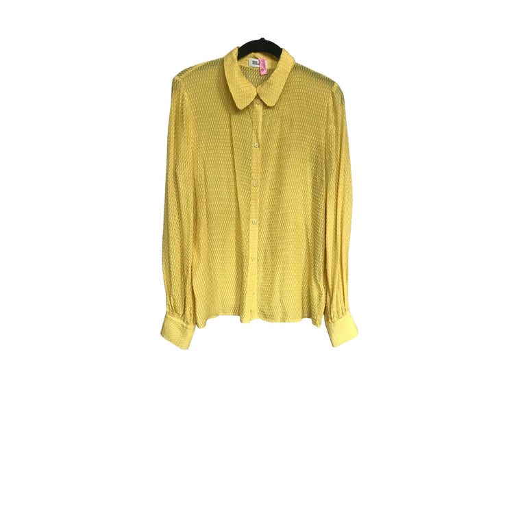 Yellow Viscose Blouse by Baum & Pferdgarten