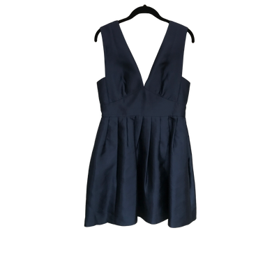 Deep V-Neck Navy Blue by J. Crew Collection