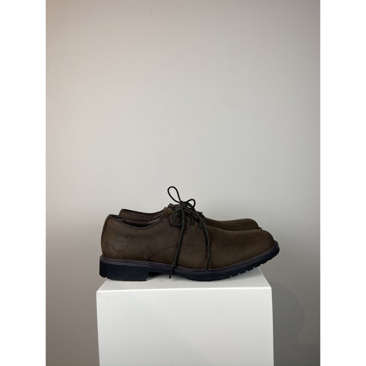 Brown Flat Boots by Timberland