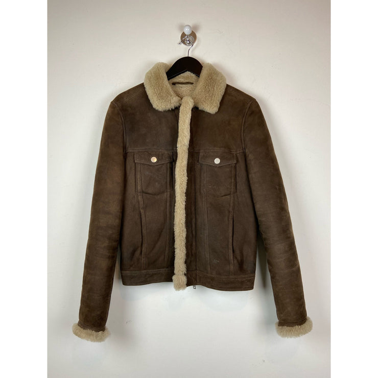 Brown Suede Jacket by J Lindeberg