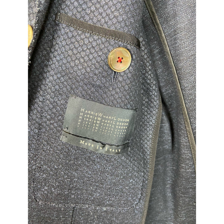 "Blazer ""Linen Fish Scale"" by Harris Wharf London"
