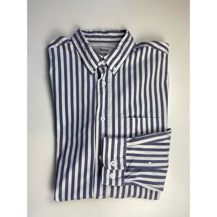 Pinstriped Shirt 'Isherwood' by Acne