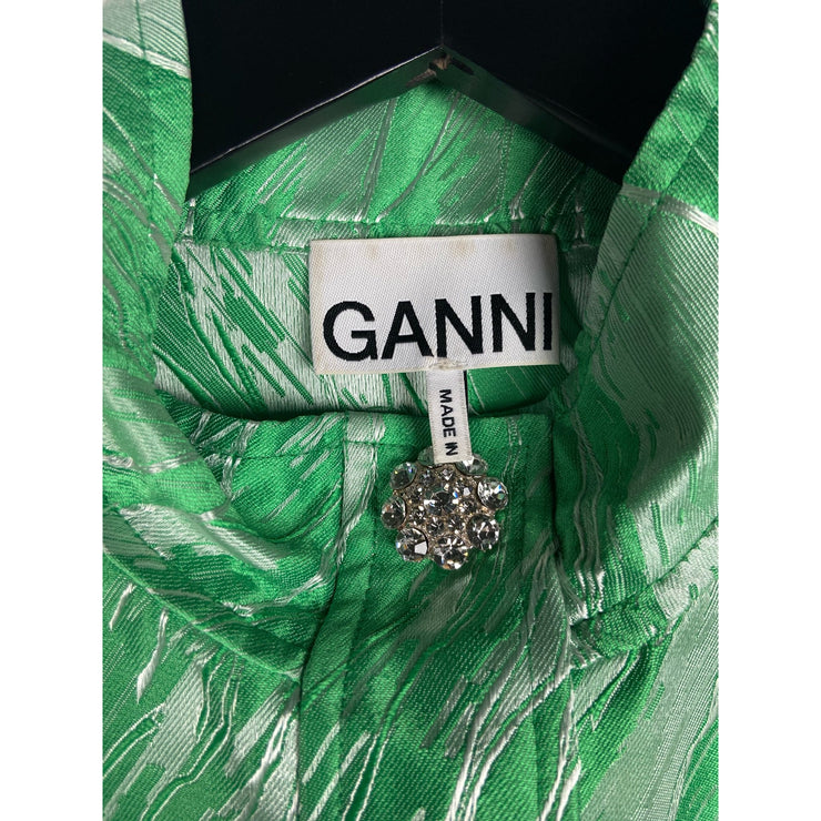 Green Dress by Ganni