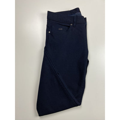Navy Tapered Pants by Hugo Boss