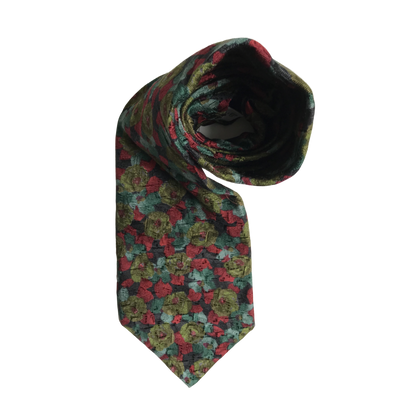 Flower Patterned Tie by Givenchy