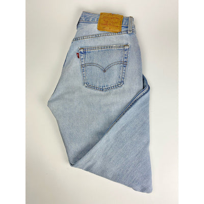 Light Blue Straight Leg Jeans by Levi's