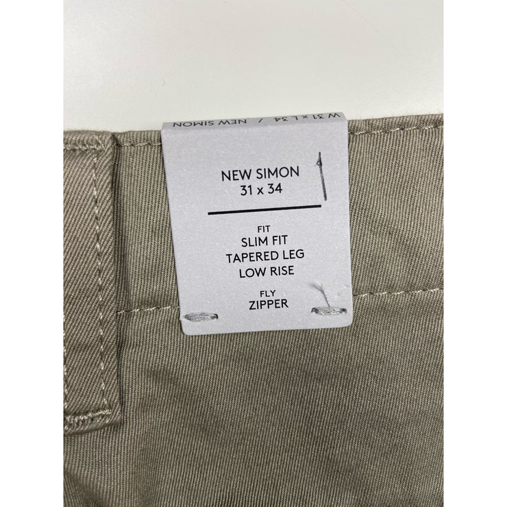 "Beige Chino Pants ""New Simon"" by NN07"