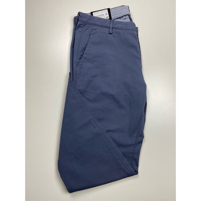 "Blue Slim Fit Pants ""Rice 3D"" by Hugo Boss"