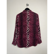 Animal Print Blouse by Fall Winter Spring Summer