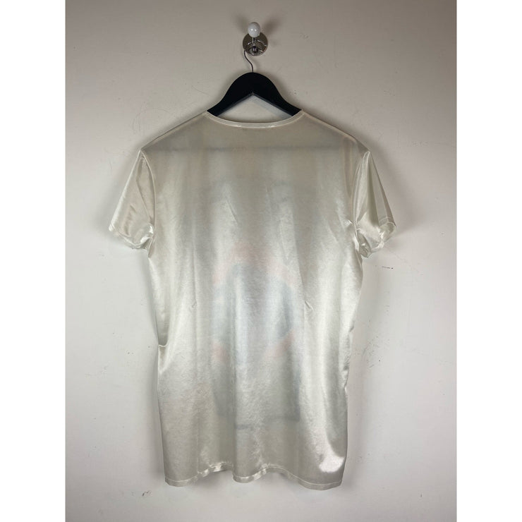 White T-shirt by Acne