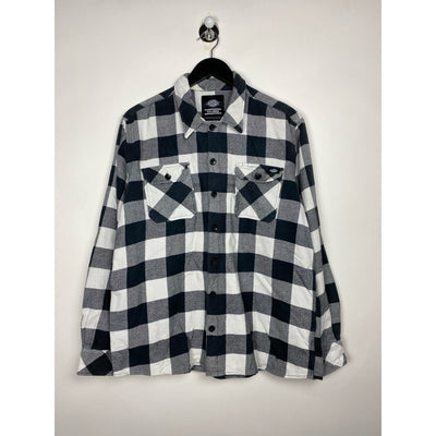 Black & White Checkered Shirt by Dickies