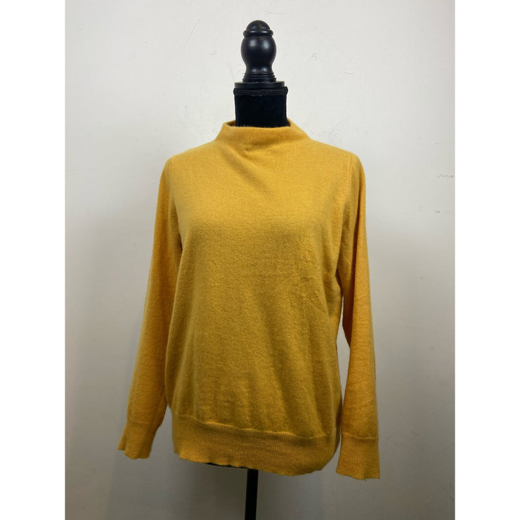 Yellow Cashmere Knit by Davida