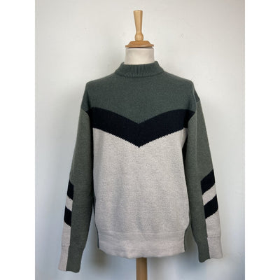 Green Crewneck Knit by J Lindeberg
