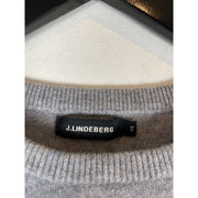 Grey Cashmere Knitwear by J Lindeberg