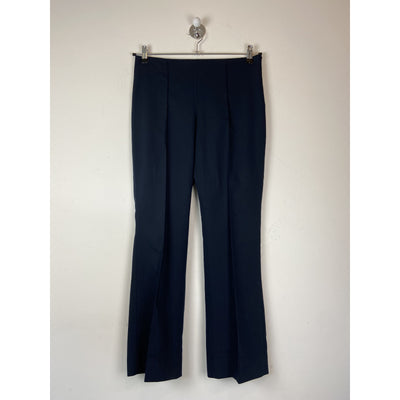 Blue Cropped Pants by Mango