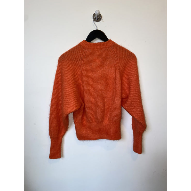 Bright Orange Mohair Knit by H&M