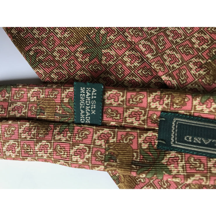 Multi Patterned Tie by Holland & Holland London