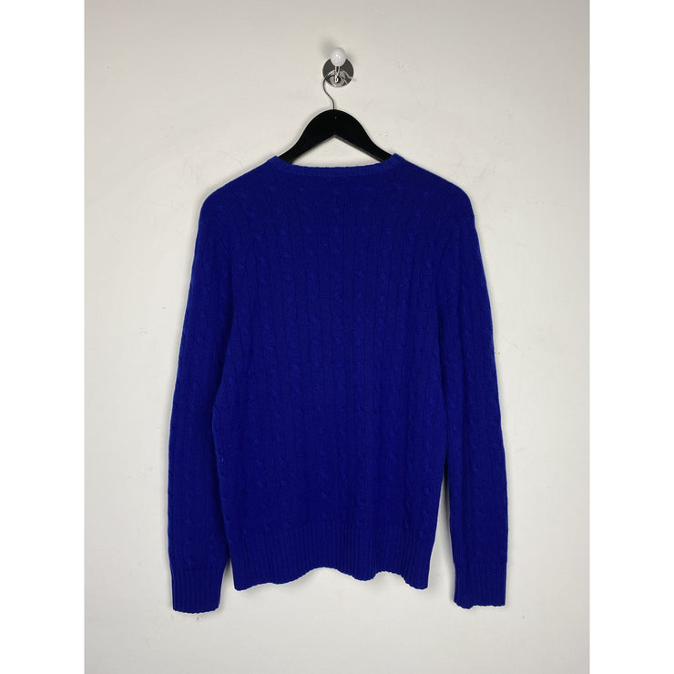 Blue Cashmere Knitwear by Polo Ralph Lauren