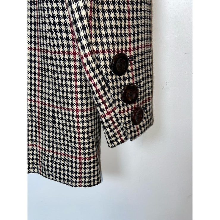 Checkered Blazer by Yves Saint Laurent